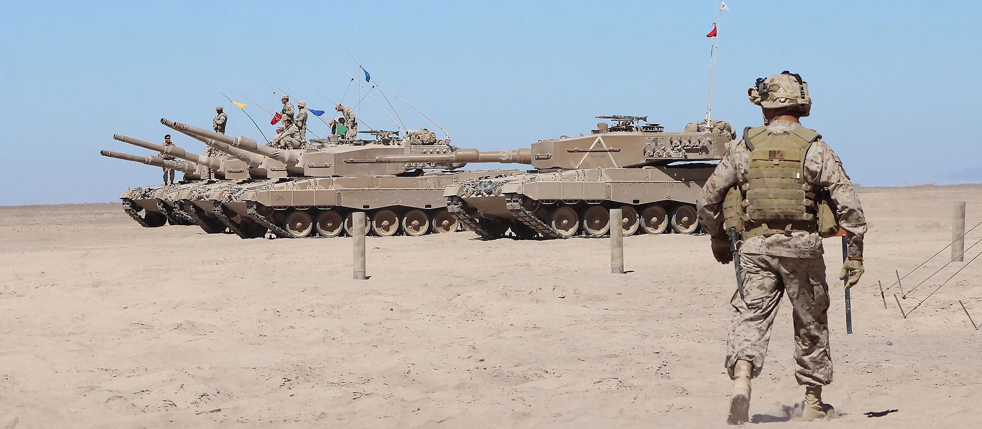 Армия между Андами и океаном