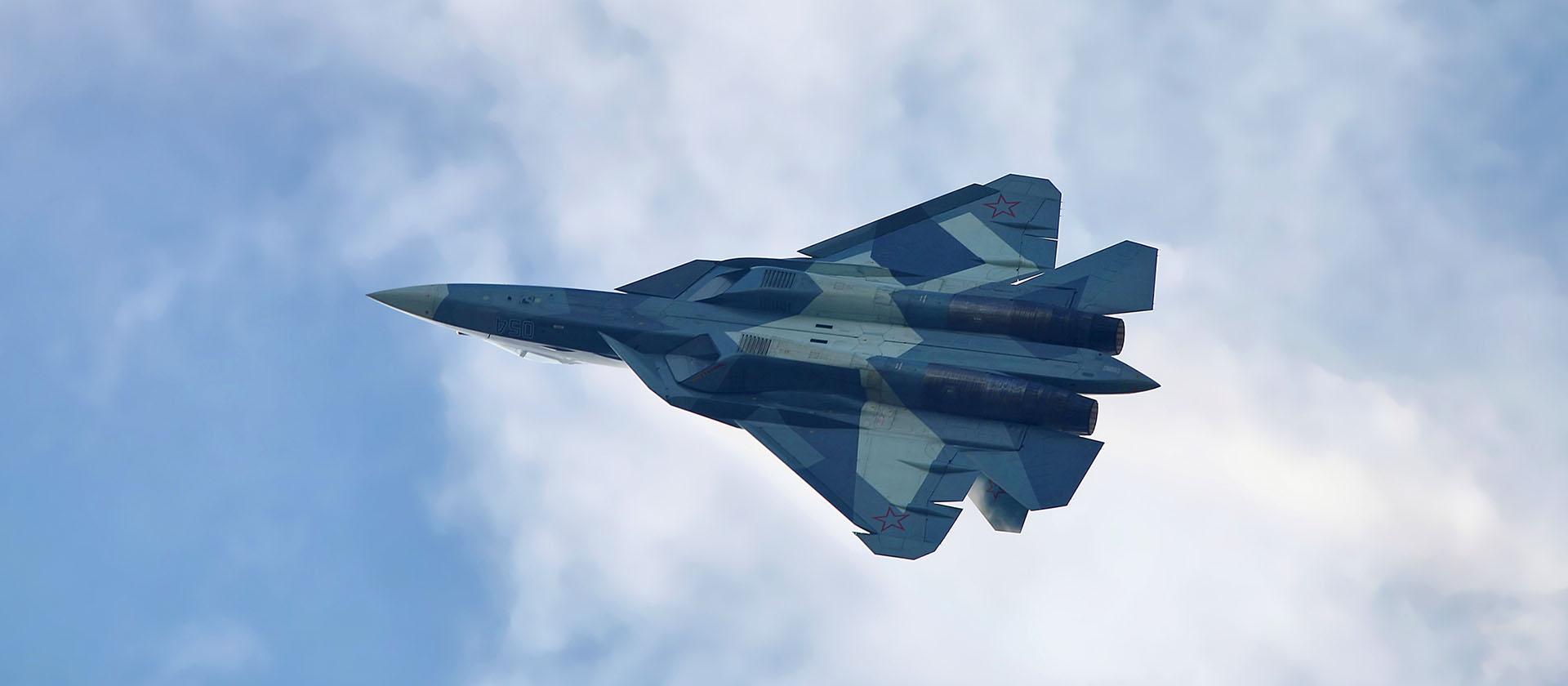 Су-57 испытал крылатые ракеты в Сирии