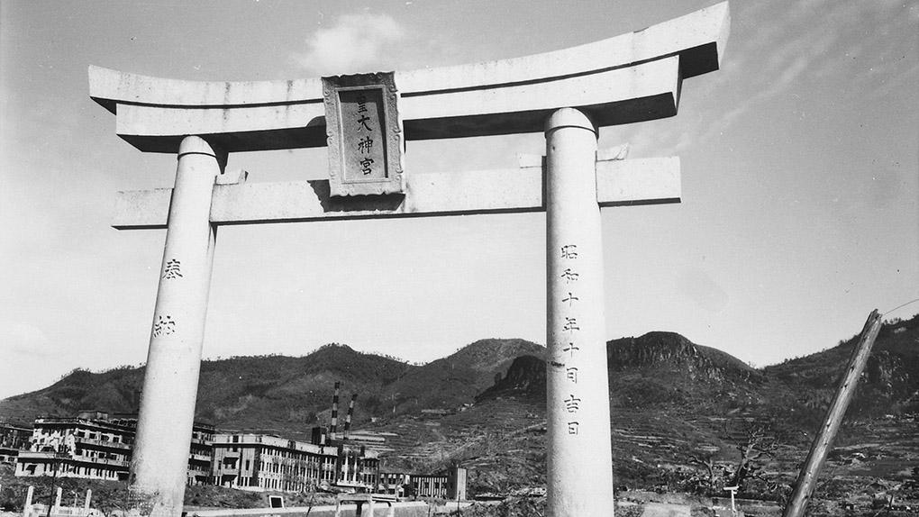 Памятник в Нагасаки.