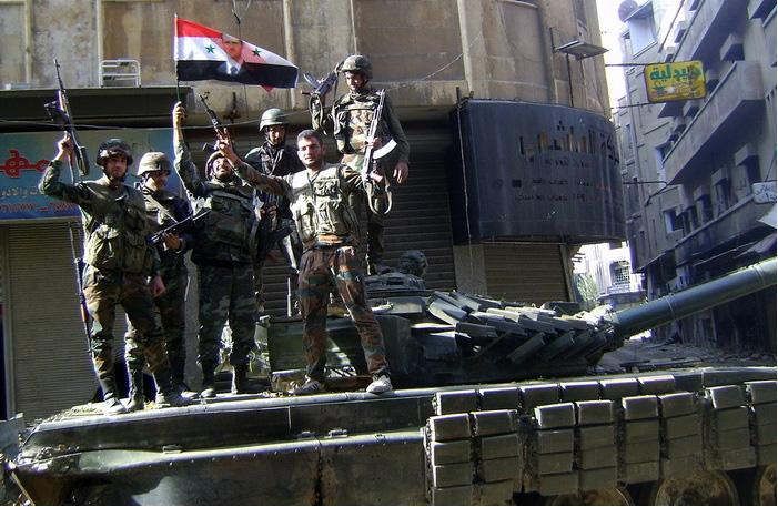 Восстановленная бронетехника продолжит громить террористические группировки.