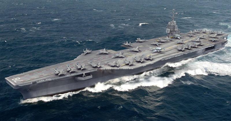 Авианосец Gerald R. Ford (USS CVN-78).