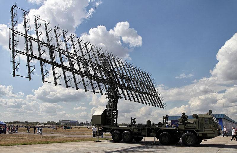 Современные российские РЛС ПВО.