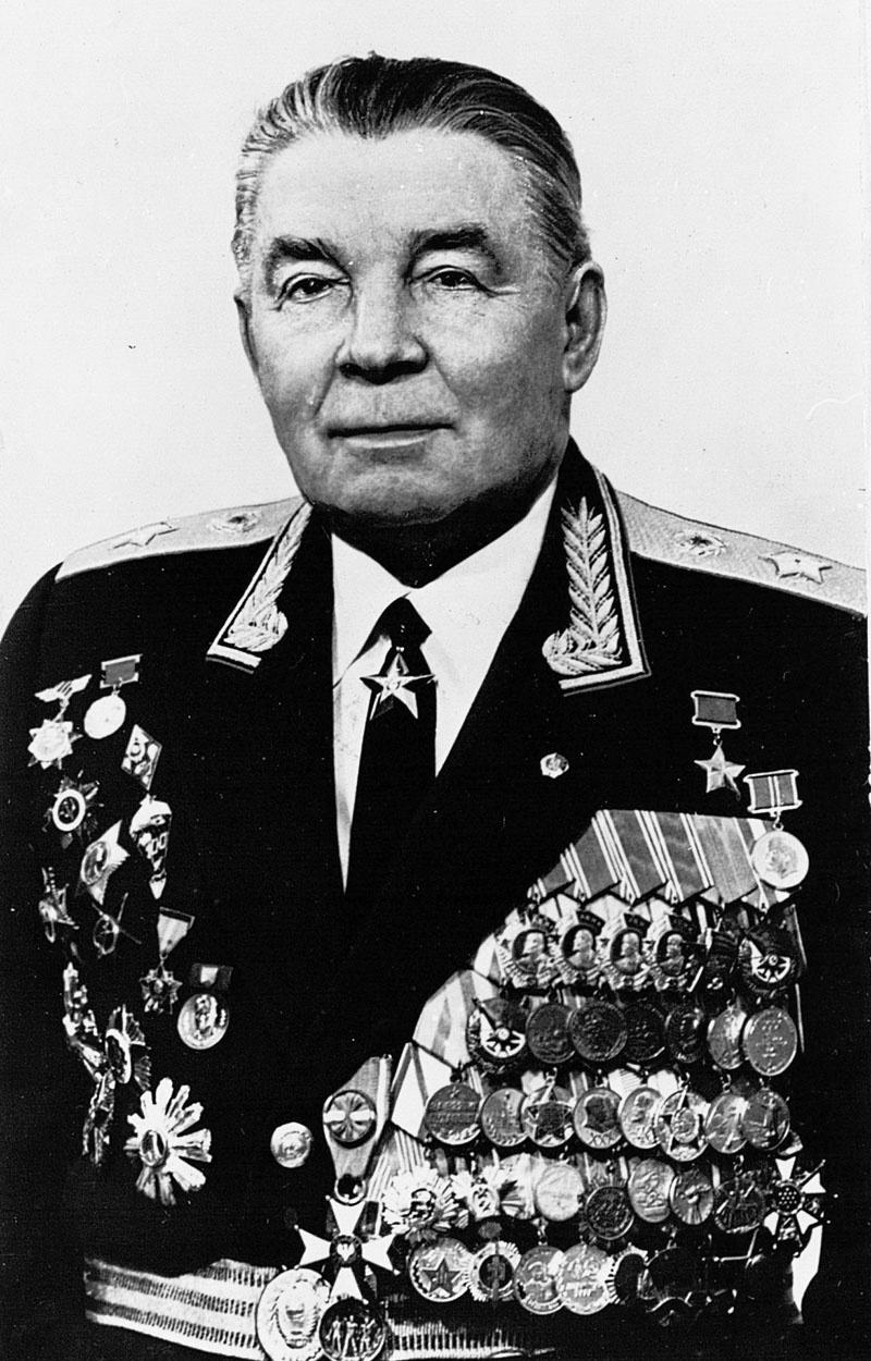 Герой Советского Союза генерал армии Василий Филиппович Маргелов.