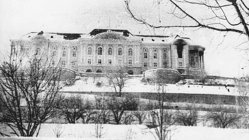 Дворец Амина.