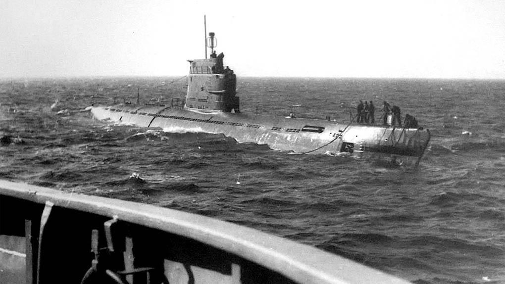Лодка-носитель БС-69.