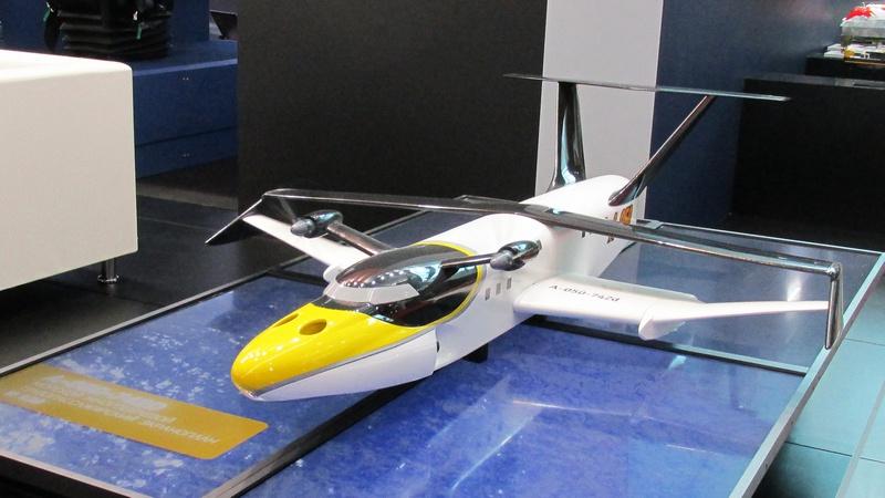 Многоцелевой экраноплан проекта А-050-742D «Чайка-2».