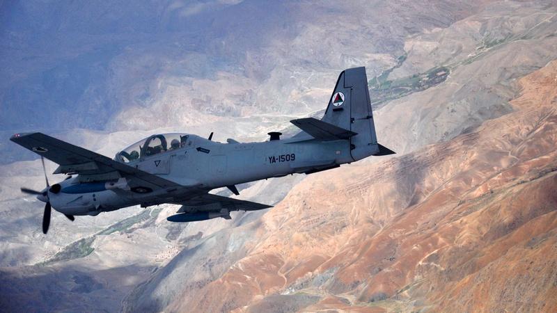 A-29 Super Tucano в Афганистане.