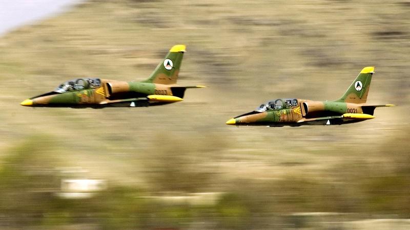 L-39 Albatross был принят на вооружение афганской армией.