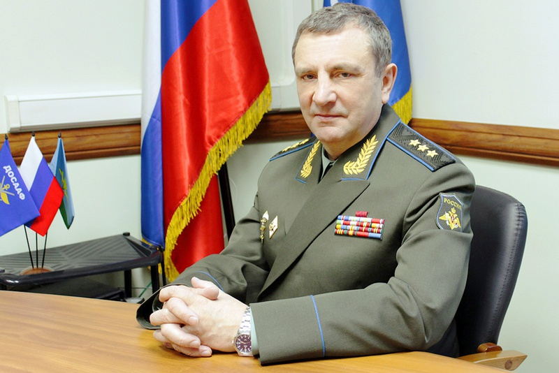 Председатель ДОСААФ России Александр Колмаков.
