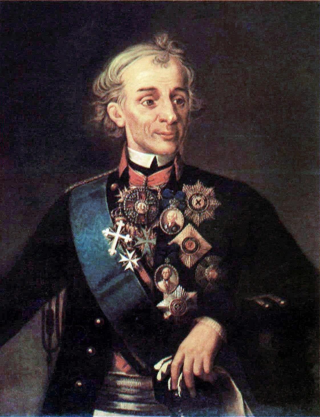 Портрет А.В. Суворова.