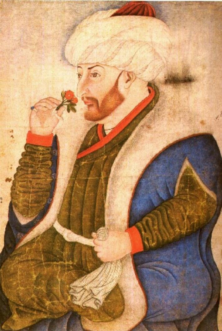 Портрет Айдослу Мехмет-паши.