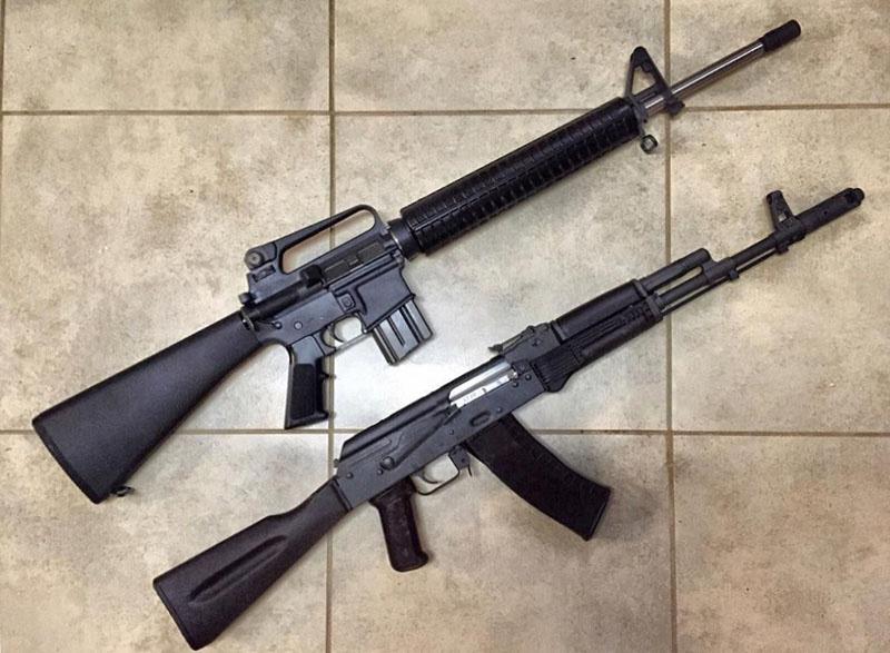 АК-74 и М-16А2, кто лучше?