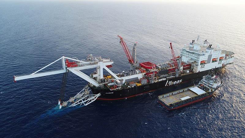 Швейцарский морской подрядчик Allseas Group SA вывел свои суда из зоны строительства газопровода «Северный поток-2».
