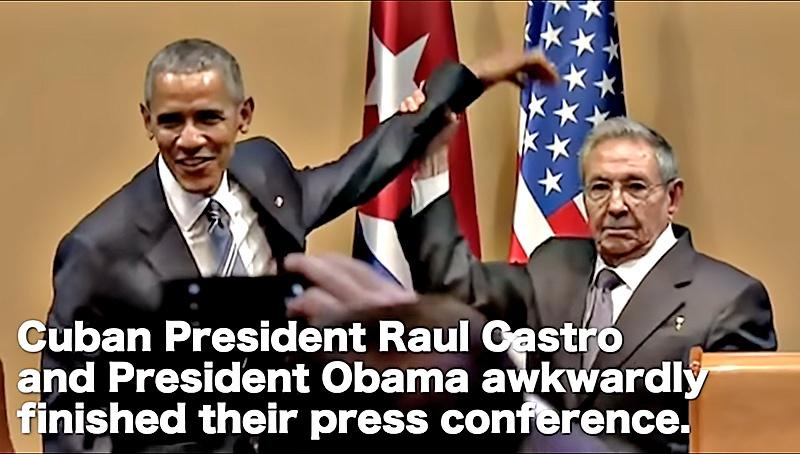 Обама пытался навязать «покровительство», отчего кубинцы отказались.