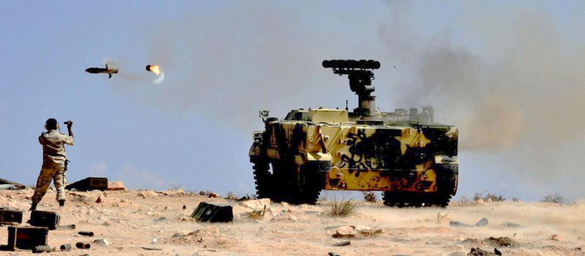 «Хризантемы» в ливийской пустыне