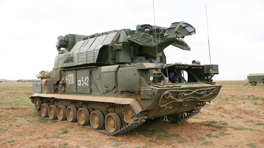 Тор-М2 в Сирии.