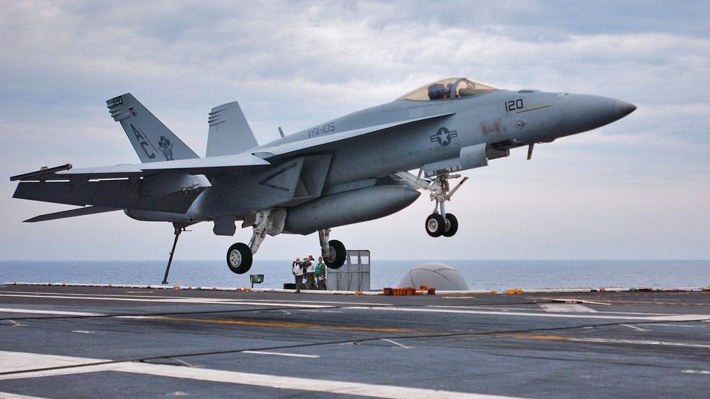 Boeing F-A-18F Super Hornet.
