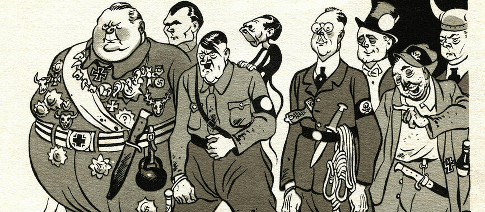 Грозный смех советского солдата