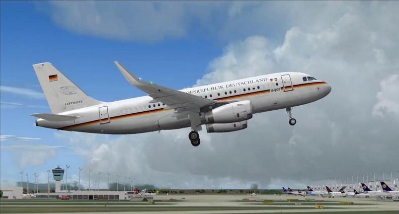 Германия в 2017 году ввела в строй самолёт наблюдения на базе авиалайнера Airbus A319.