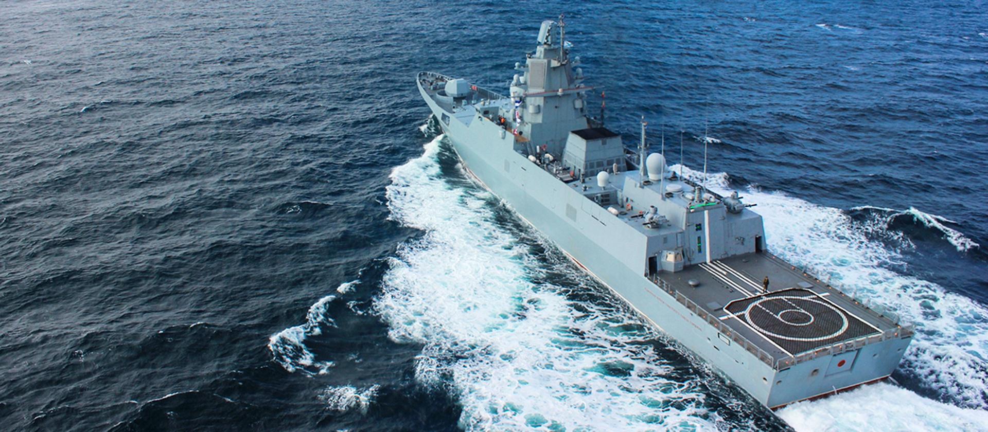 Жесткое излучение «Адмирала флота Касатонова»