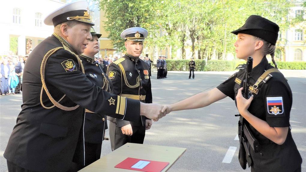 Поздравление от контр-адмирала Александра Карпова.
