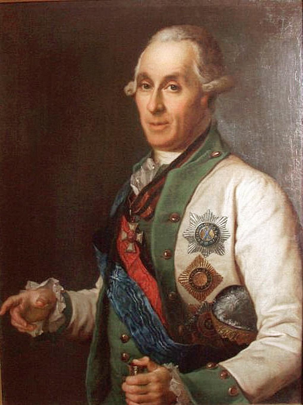 Капитан Самуил Карлович Грейг.