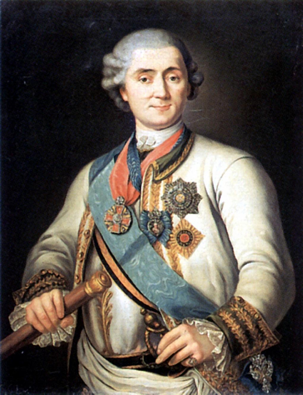 Граф Алексей Григорьевич Орлов-Чесменский.