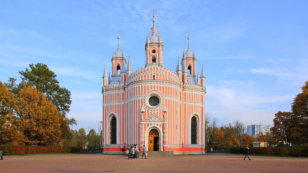 Церковь Рождества святого Иоанна Предтечи (Чесменская) в Санкт-Петербурге.