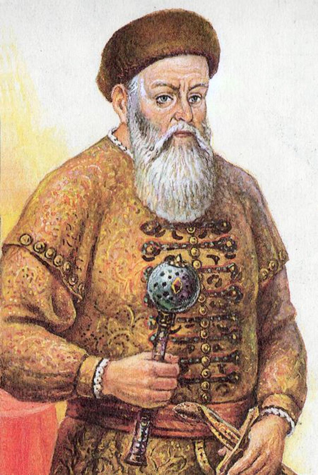 Даниил Васильевич Щеня-Патрикеев.