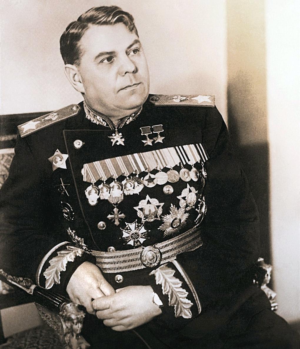 Маршал А. М. Василевский.