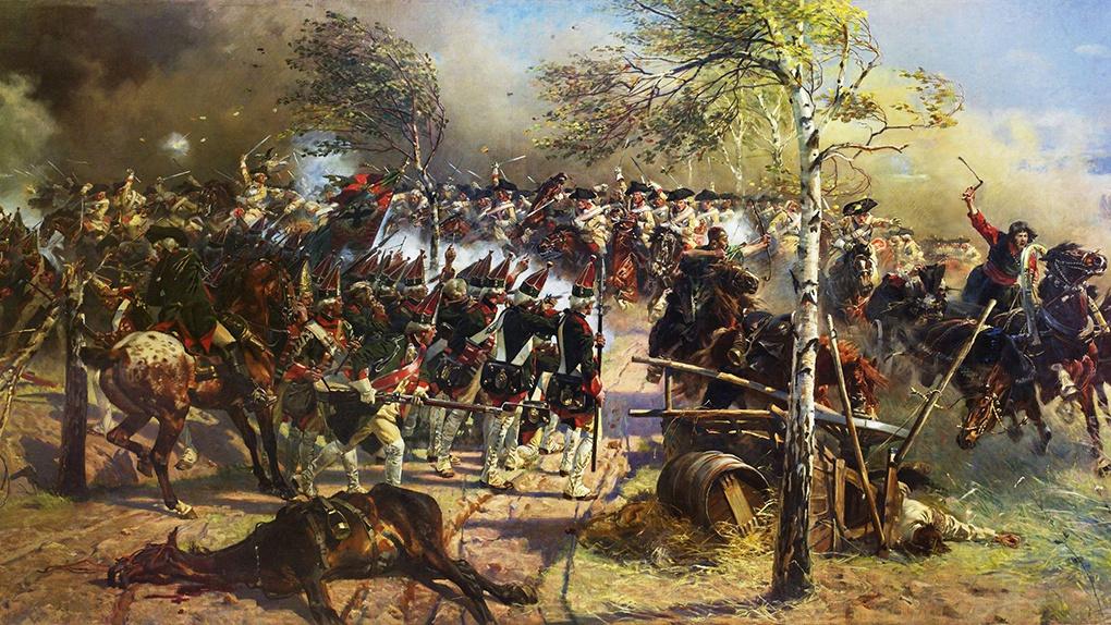 Сражение при Кунерсдорфе.