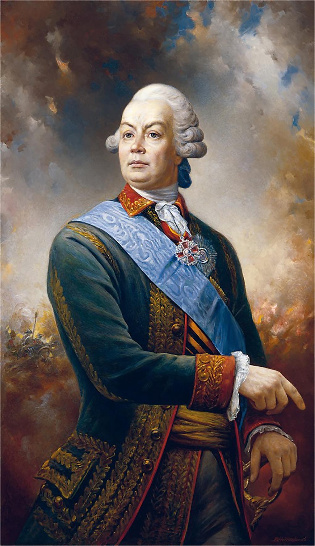 Граф Пётр Александрович Румянцев.