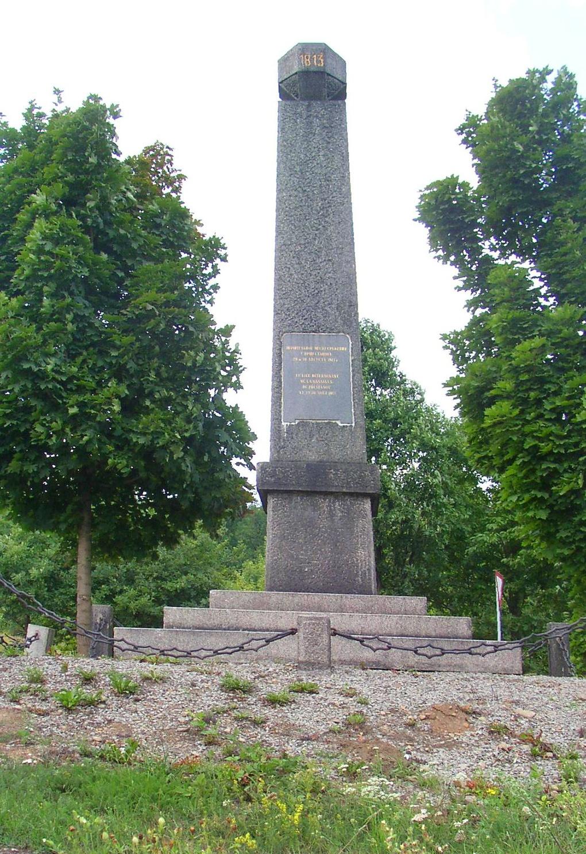 Памятник на месте Кульмского сражения