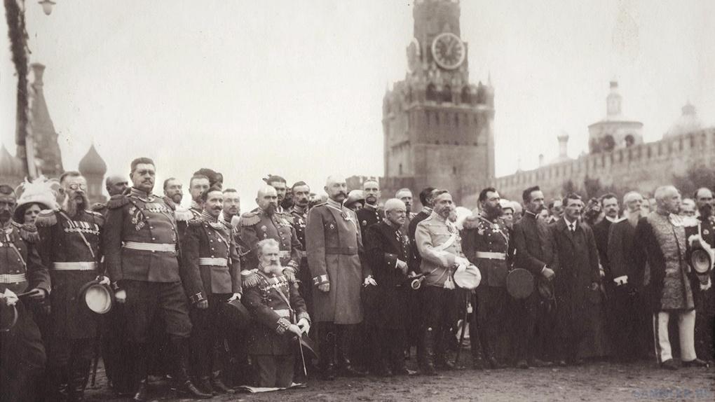 Празднование 100-летия Бородинской битвы.