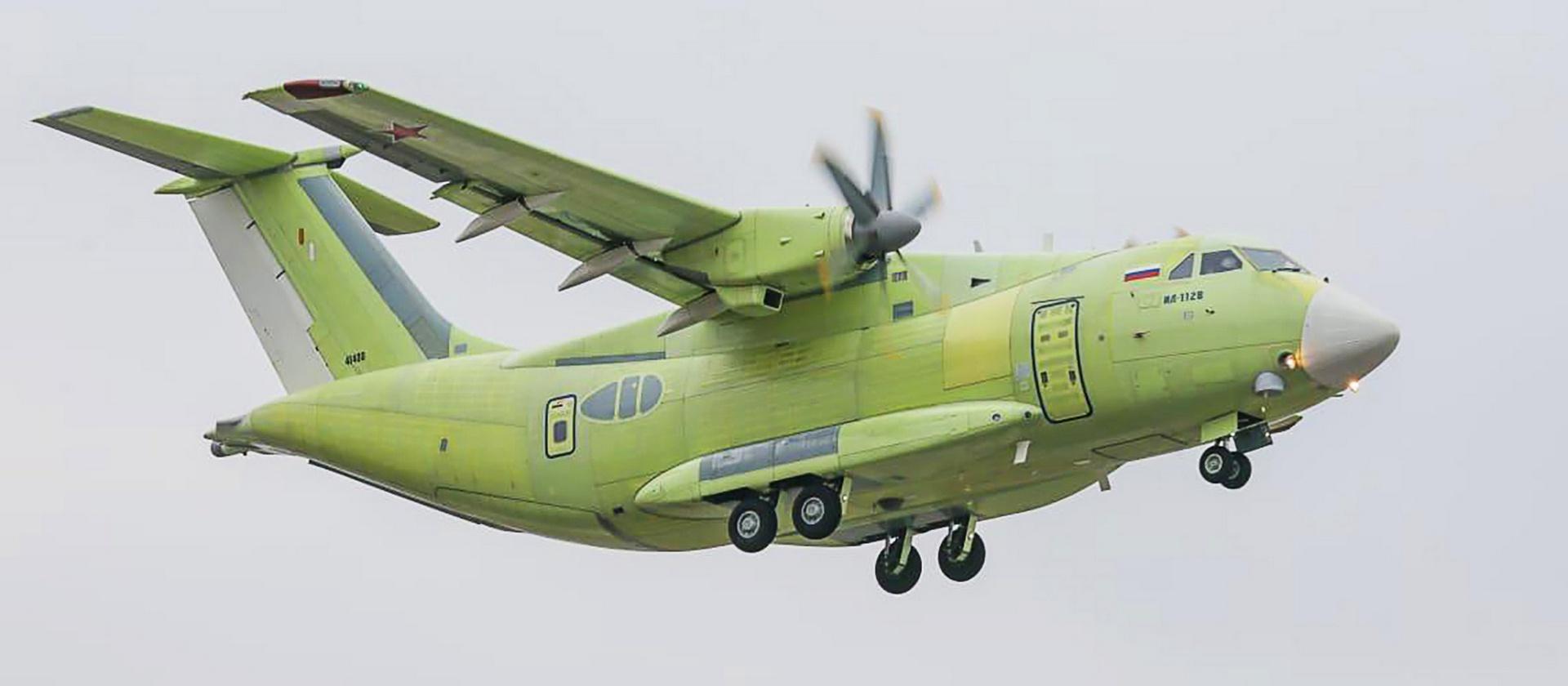 Диета для «похудения» Ил-112В