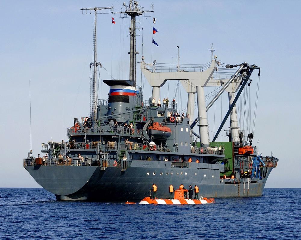 Спасательное судно «Георгий Титов».