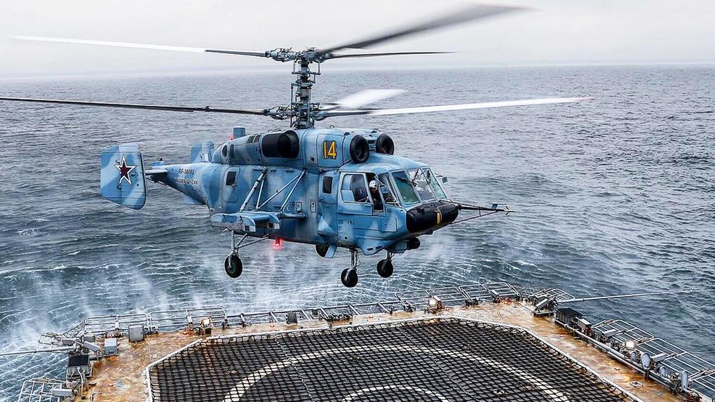 Палубный вертолёт Ка-29.