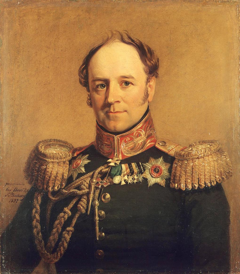 Граф Александр Бенкендорф.
