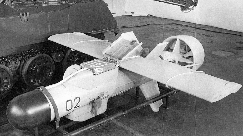 Один из прототипов ДПЛА «Пчела».