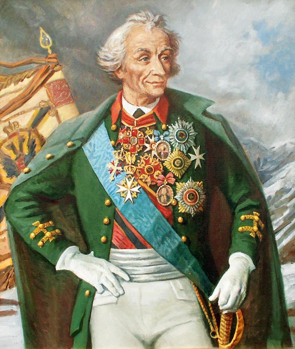 Генералиссимус Российской империи Александр Васильевич Суворов.