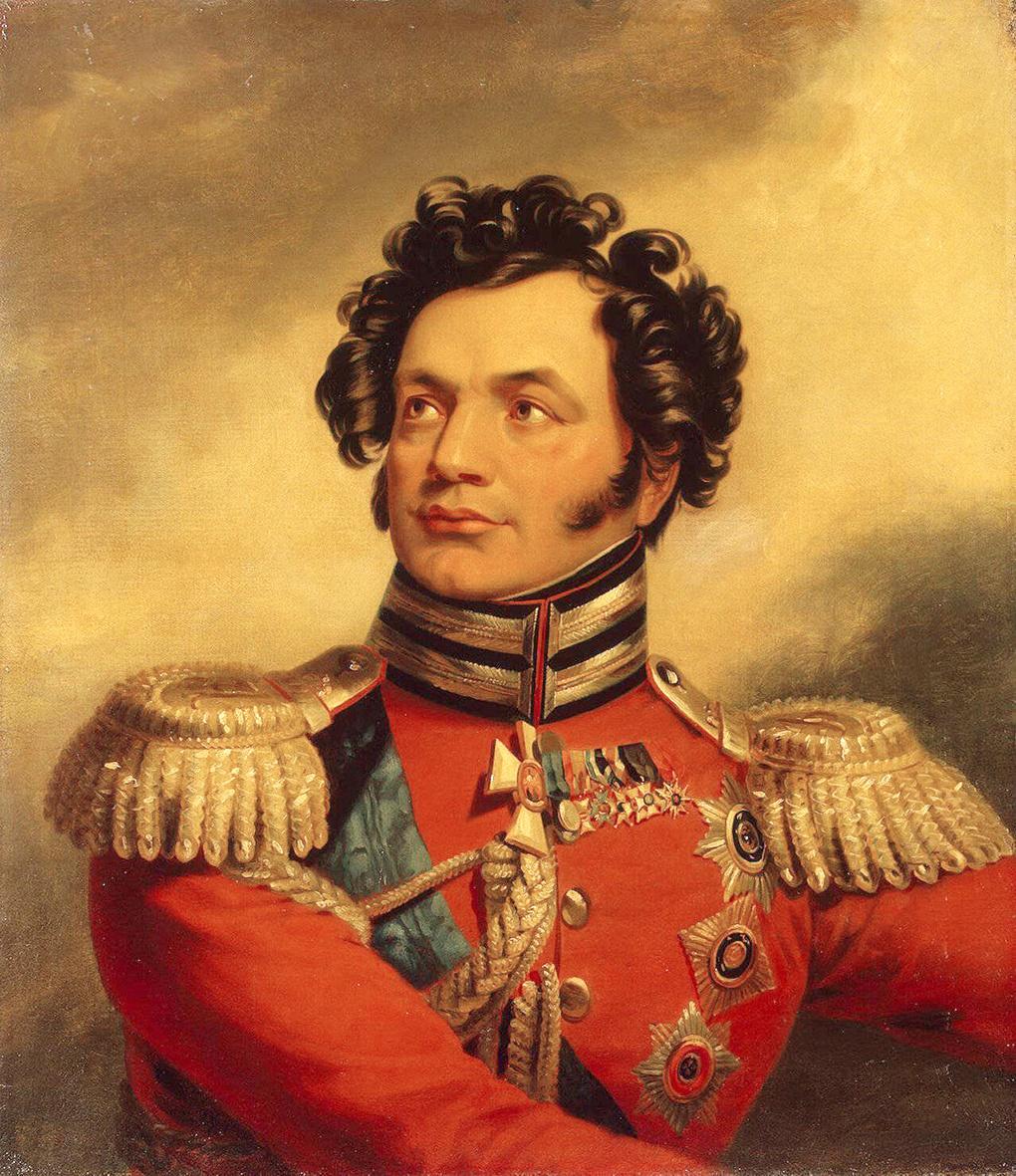 Генерал Федор Уваров.