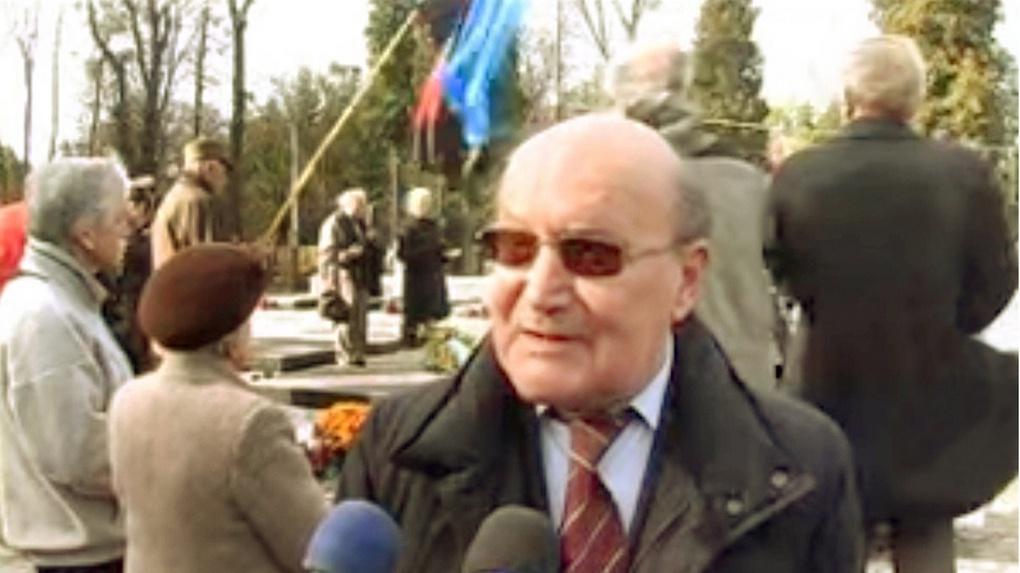 Андрей Ребет. Кадр из видео