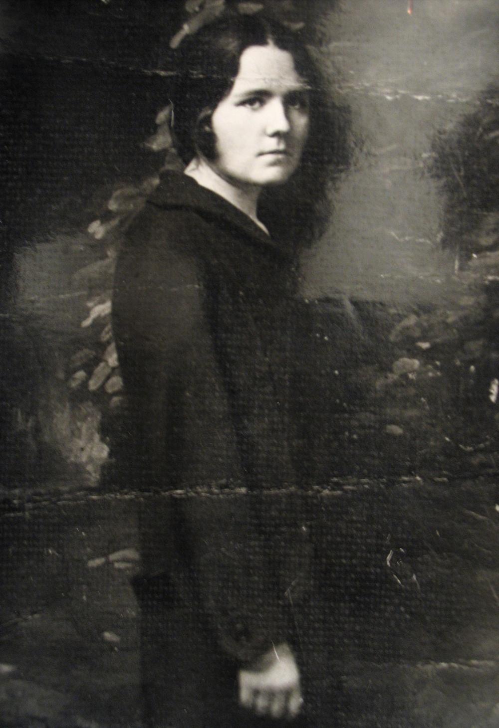 Анастасия Мельникова, фото 1930-х гг.