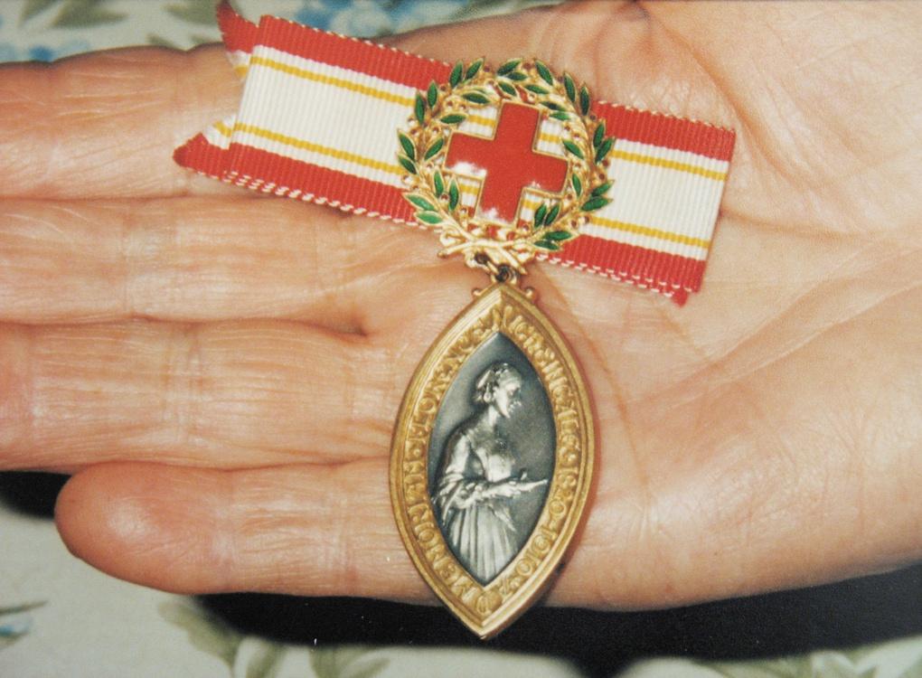 Медаль Флоренс Найтингейл.