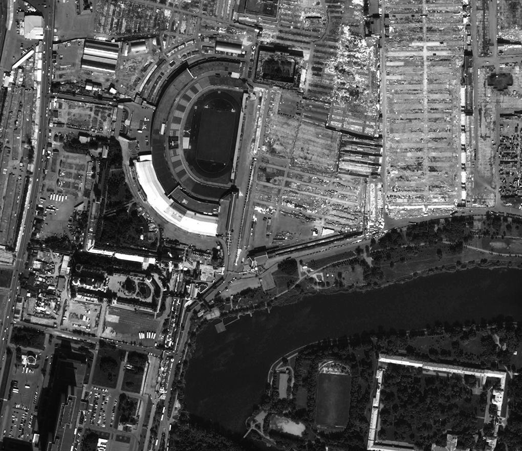 Ошская область снимок сделан в августе 2016 года космическим аппаратом Spot-6.