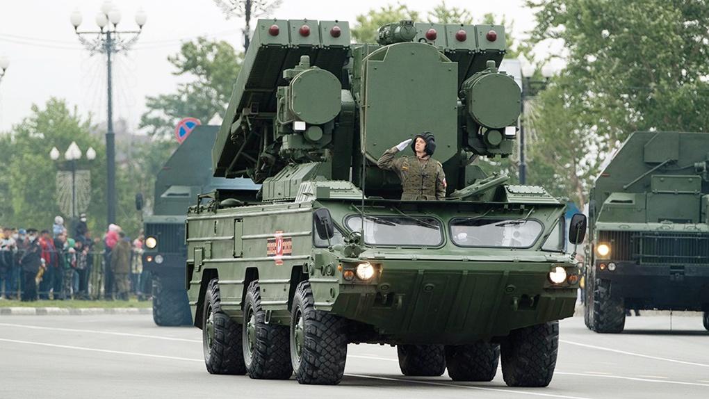 Боевая машина 9А33БМ3 зенитного ракетного комплекса 9К33М3 «Оса- АКМ».