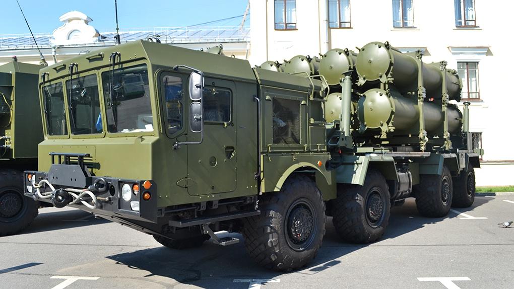 Береговой мобильный ракетный комплекс «Бал».
