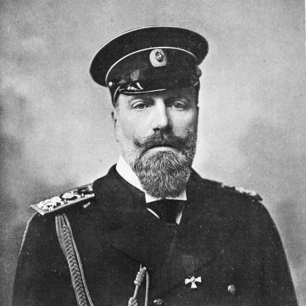 Генерал-адмирал великий князь А.А.Романов.