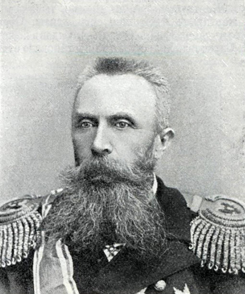 Вице-адмирал О.В.Старк.