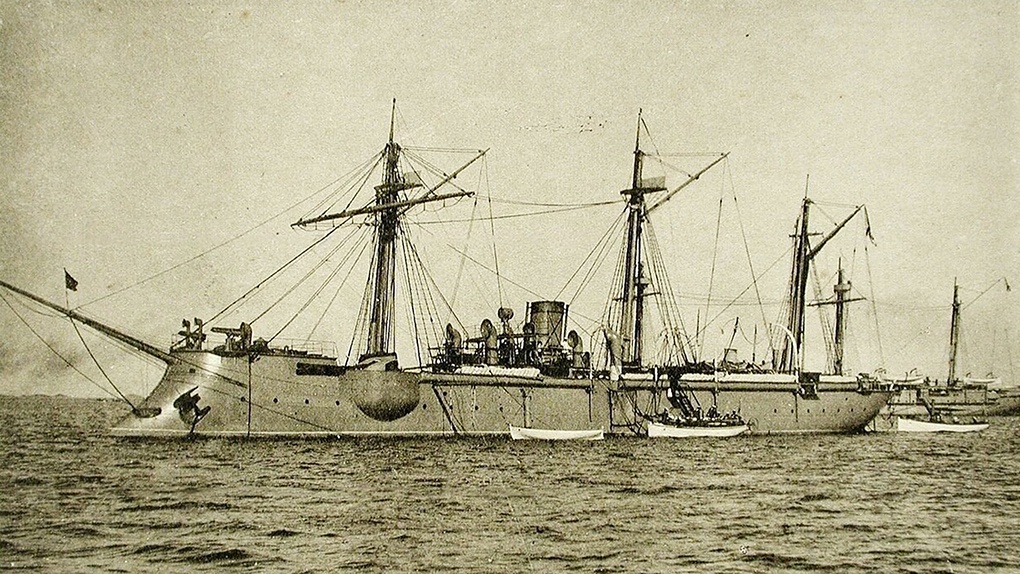 Канонерская лодка «Кореец».